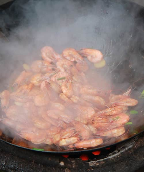Cooking Shrimps: Sauté