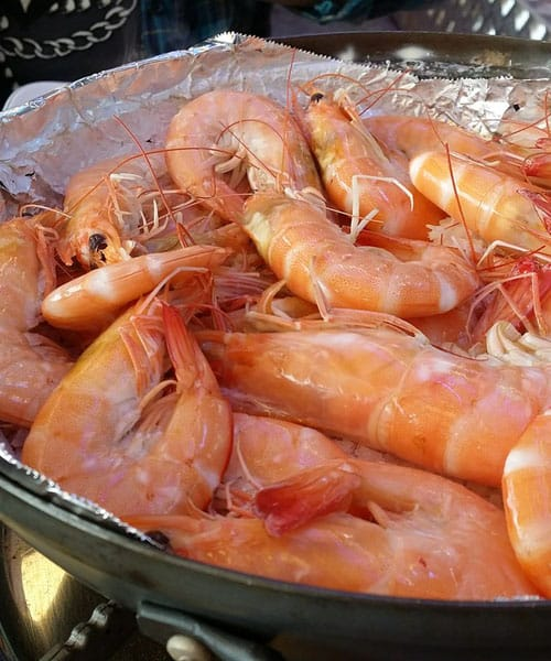 Cooking Shrimps: Boiling