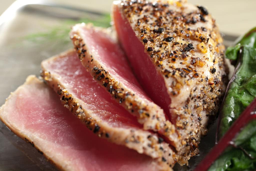 Ahi Tuna Is The Taste Temptation Whether Rare Or Fully Cooked