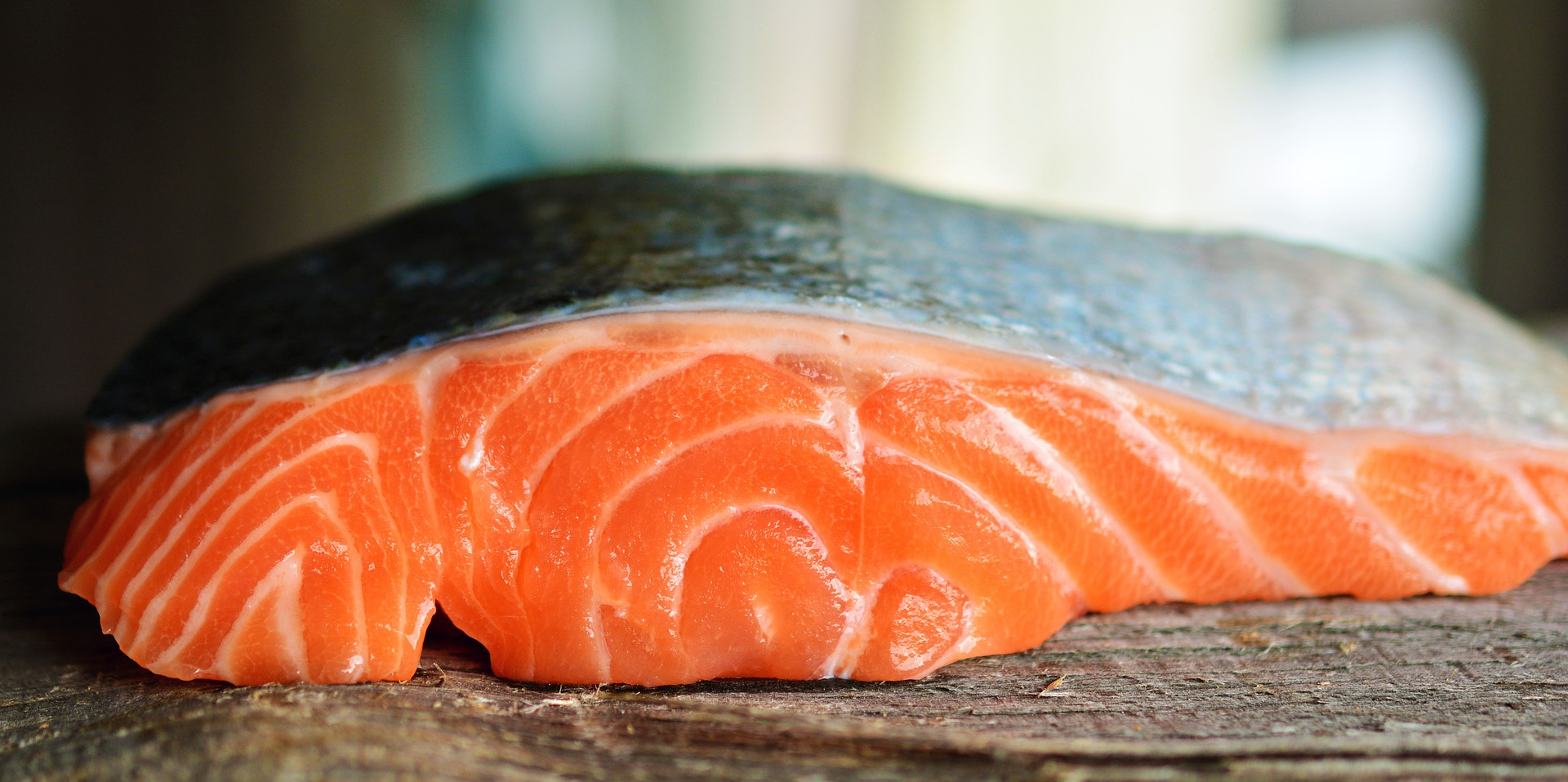 Photo of a salmon fillet